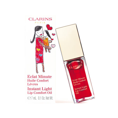 Eclat Minute Huile Confort Lèvres Red Berry