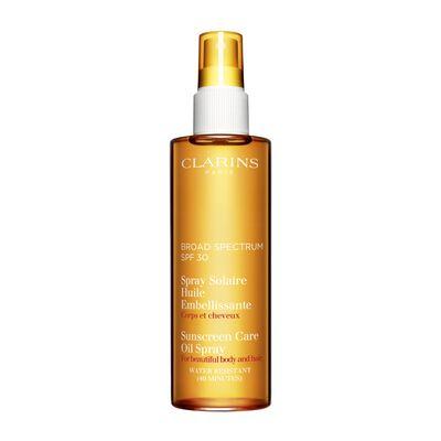 Spray Solaire Huile Embellissante Haute Protection UVA/UVB 30