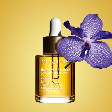 Huile Orchidée Bleue avec l'ingrédient Orchidée Bleue