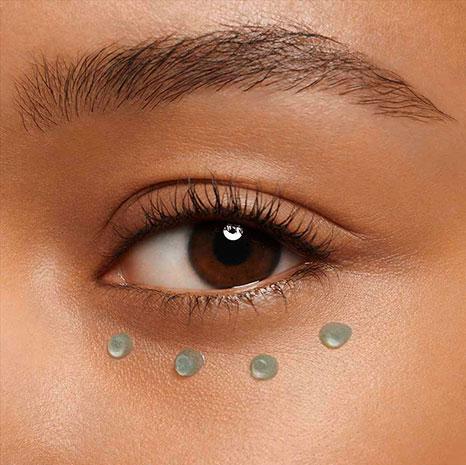 Contour des yeux texture gel