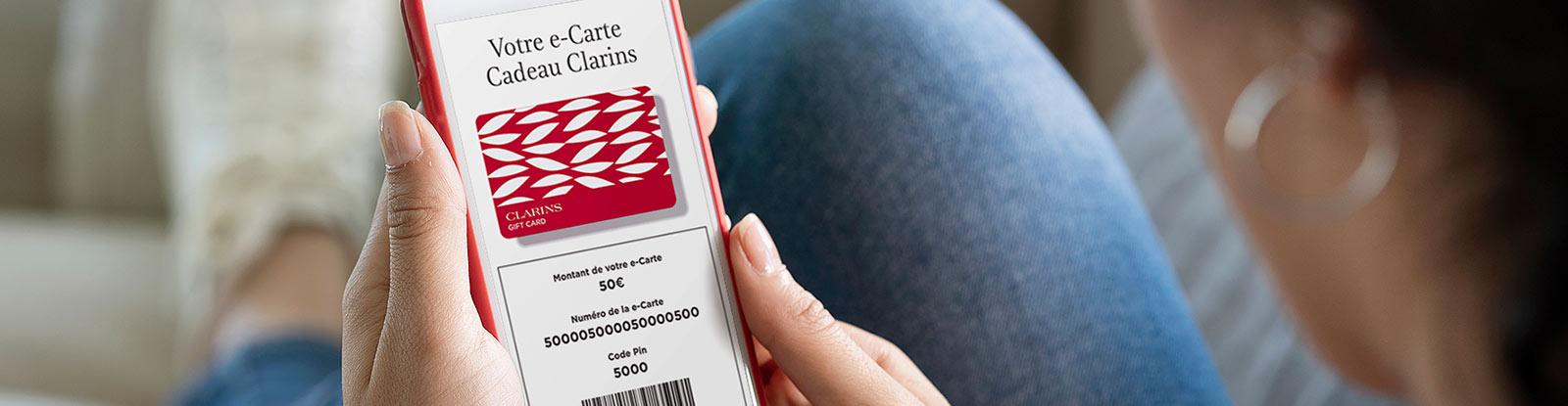 Carte Cadeau Clarins