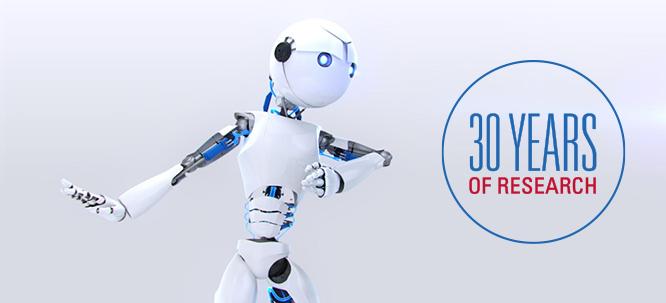 Image du robot de la Fondation Arthritis