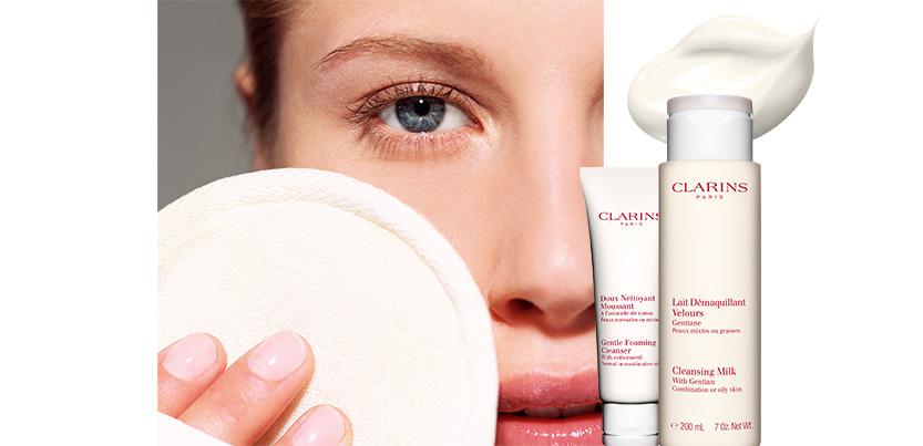 Sauvez votre peau avec le double démaquillage