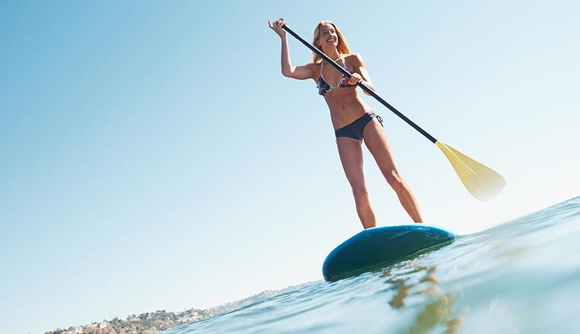 Stand Up Paddle : sculptez-vous des abdos en béton !