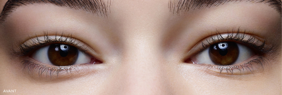 Wonder Perfect Mascara 4D before