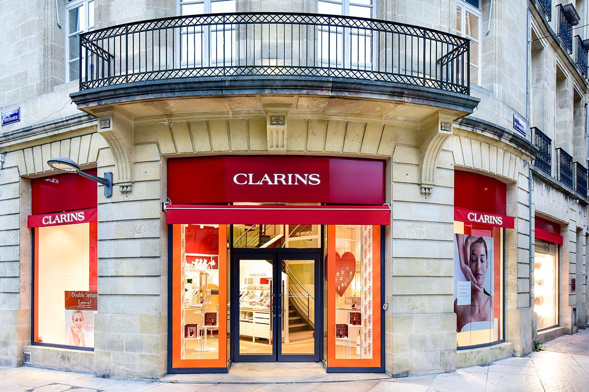 Clarins shop 2