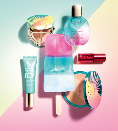 Collection Frozen Summer  Maquillage - Clarins